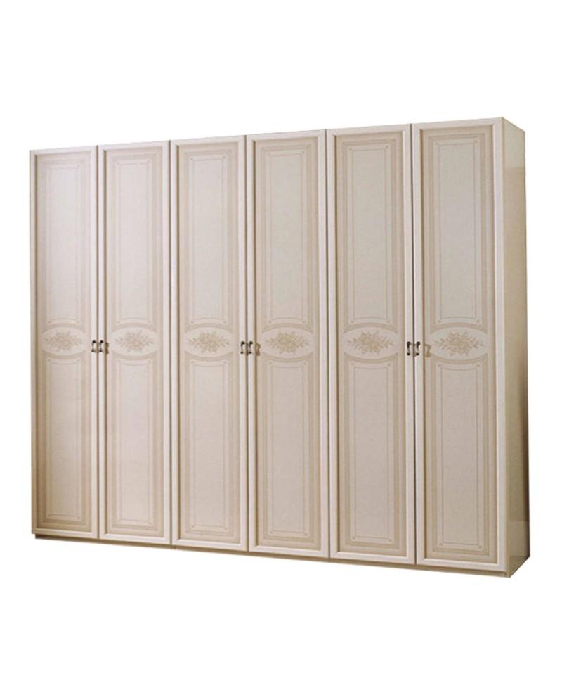 Misure armadio 6 ante armadio ante battenti classico for Cassettiera interna armadio mercatone uno