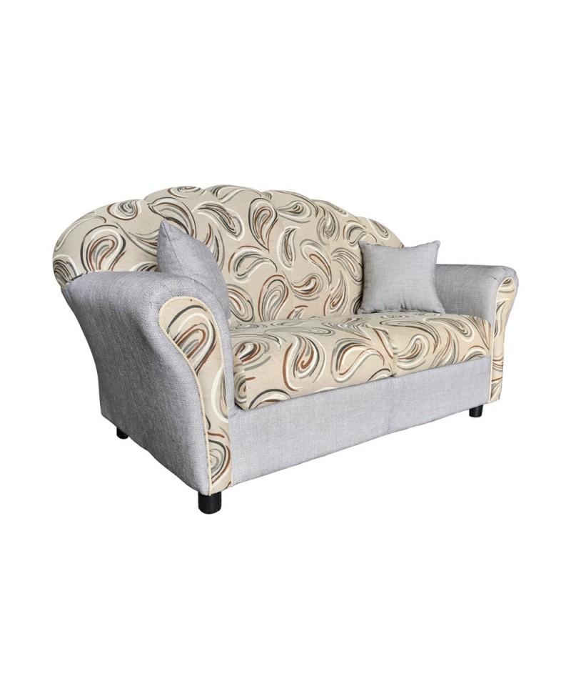 divano conchiglia fantasia