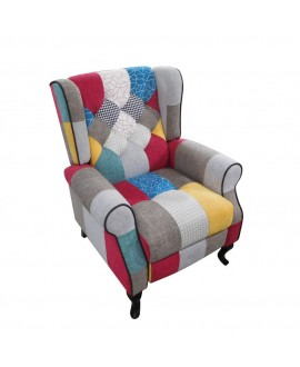 Poltrona Relax Patchwork